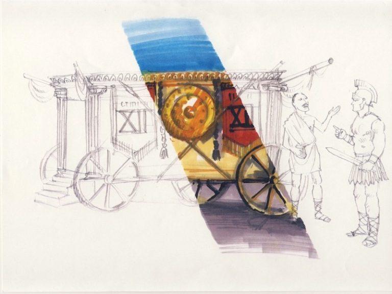 Wagon Roman